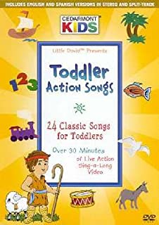 toddler action songs cedarmont