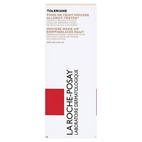La Roche-Posay Toleriane Teint Mousse Make-up 02, 30 ml