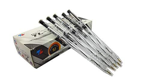 Box 20pcs ballpoint pen, black ink pen, retractable ballpoint pen, recordable pen 0.5mm pen needle tip pen smooth writing pen, precise v5 rolling ball pen extra fine. Nice pens for writing