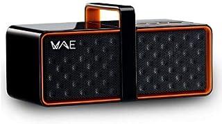 Hercules WAE Wireless Portable Speaker – Black/Orange, BTP03