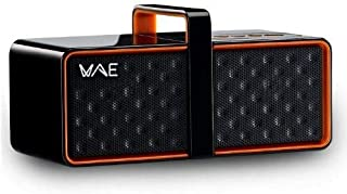 Hercules WAE Wireless Portable Speaker – Black/Orange, BTP03