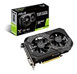 Asus TUF Gaming GeForce GTX 1650 Super Overclocked 4GB Edition HDMI DP DVI Gaming Graphics Card (TUF-GTX1650S-O4G-GAMING)