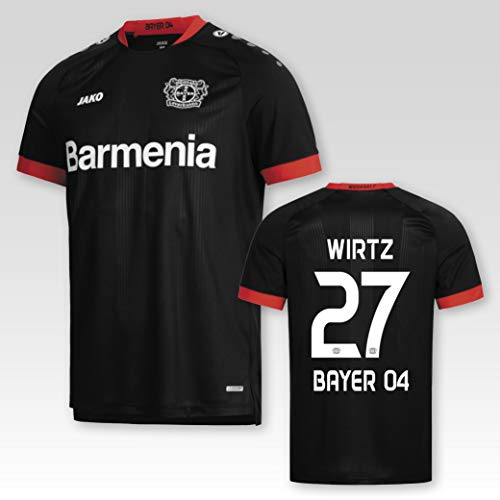 JAKO Bayer 04 Leverkusen Heimtrikot 2020/2021 Erwachsene mit Spielerflock Wirtz Nr. 27 (3XL)