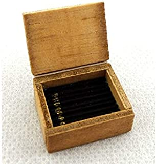 Melody Jane Dolls Houses House Miniature Box Cigars Pub Bar Den Study Accessory 1:12 Scale