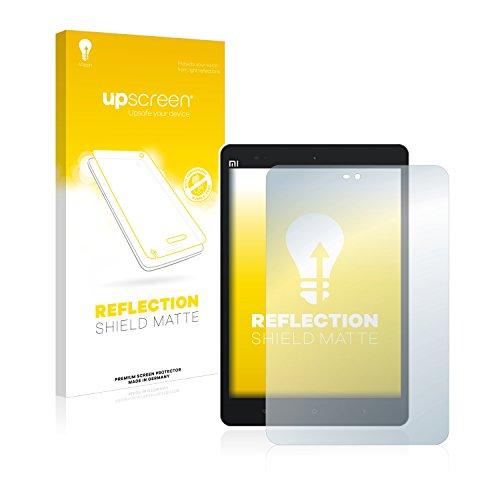 upscreen Entspiegelungs-Schutzfolie kompatibel mit Xiaomi Mi Pad 2 – Anti-Reflex Bildschirmschutz-Folie Matt