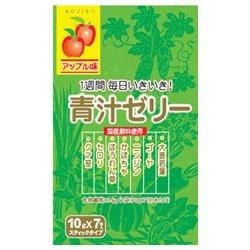 新日配薬品 青汁ゼリー 10g×7包×10袋入×(2ケース)