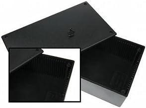 Velleman WCAH2852 Caja para Equipo Negro - Fundas para Equipo (Negro, De plástico, 200 mm, 110 mm, 65 mm)