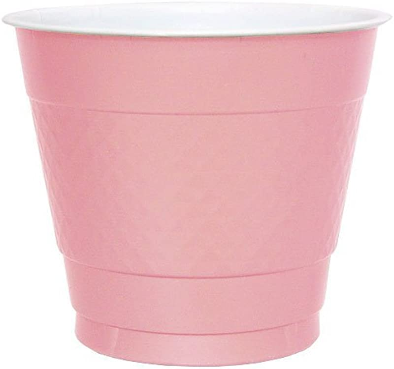 Hanna K Signature Collection Plastic Cup Pink 9 Ounce 50 Cups