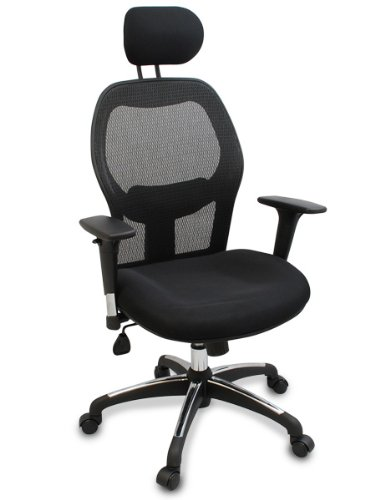 'Walker' Fully Adjustable Mesh Office Computer Chair with Adjustable...