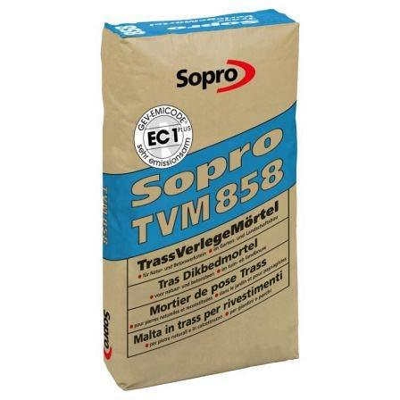 Sopro TrassVerlegeMörtel, Kleber, TVM 858, 25 kg