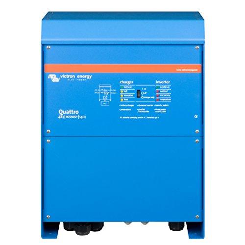 Victron Energy - Inversores/cargadores 8000W 48V 10000VA Victron Energy Quattro 48/10000/140-100/100 - QUA481030010