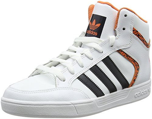 adidas Varial Mid, Scarpe da Skateboard Uomo, Bianco (Ftwwht/Carbon/Traora Ftwwht/Carbon/Traora), 38 EU