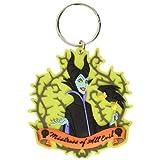 Disney Villains (ディズニー ヴィランズ) Maleficent with Crow (マレフィセントとカラス) Soft Touch Keyring (キーホルダー)【並行輸入品】