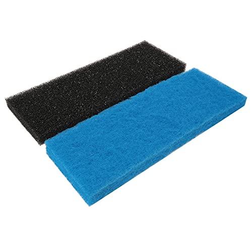 Powkoo Espuma filtrante de espuma para acuario, 2 unidades, para acuario, estanque, bidón de filtro ⭐