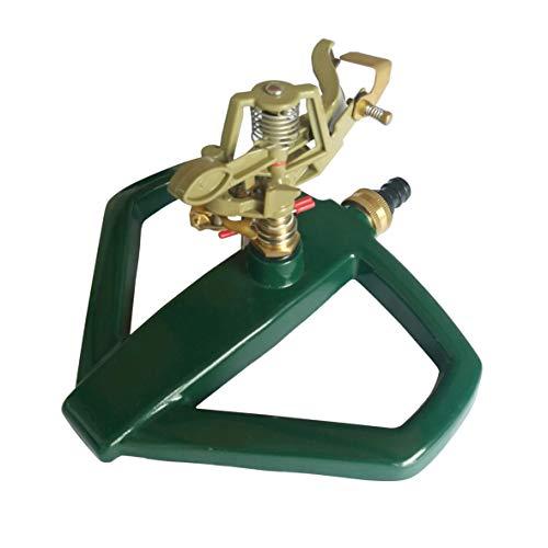 Xclou 346128 - Aspersor de impacto con movimiento circular, color Verde