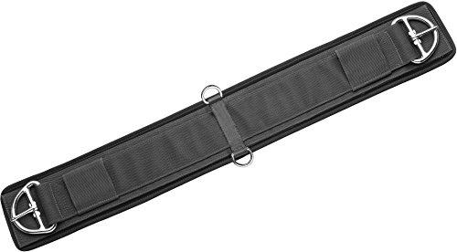 Westerngurt aus Neopren mit abnehmbarem Futter Länge 85 cm, schwarz