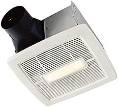 Broan-NuTone AEN110L InVent Series Single-Speed Fan, Ceiling Room-Side Installation Bathroom Exhaust Fan, ENERGY STAR Certified, 1.0 Sones, 110 CFM