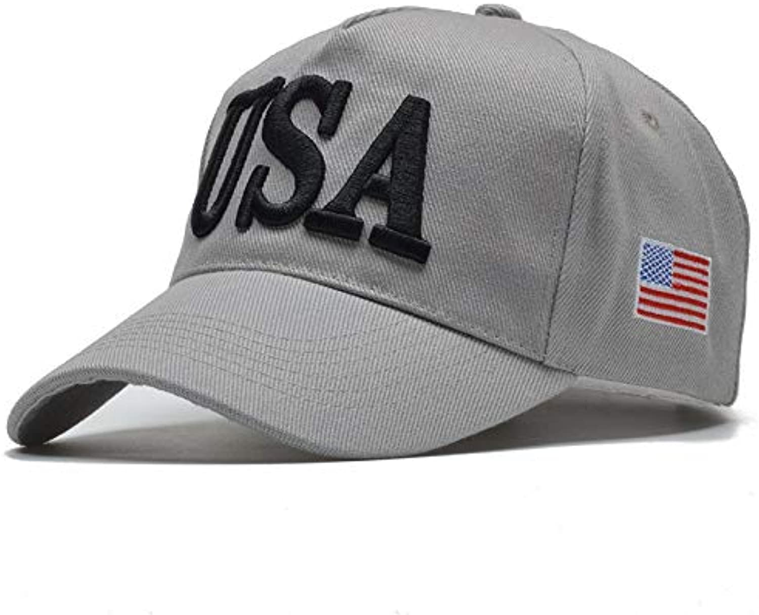 AAMOUSE Baseball Cap New USA Letter Fitted Hats Baseball Cap Women Men Dad Hat for Adult Hip Hop Snapback Caps Gorras