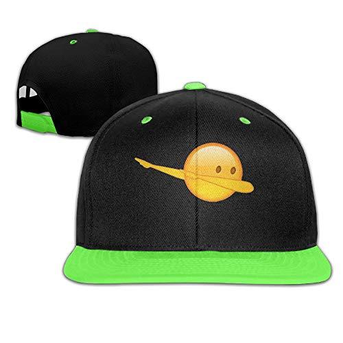 LBJY Dab Emoji Teens Cute Snapbacks Street Dancing Hip-Hop Visor Starter Snapback Hats Baseball Caps