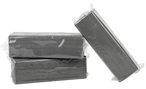 Becks Plastilin B100143 Knete, grau