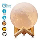 ACED 5.9Inch Luna Moon Lamp Night Light 3D Printed Lunar...