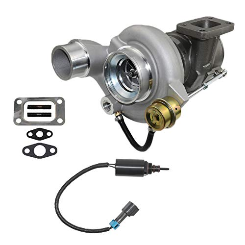 Turbo charger w/ Wastegate Solenoid for Dodge Ram 2500 3500 5.9L Diesel Cummins ISB Engine HE351CW, Replace# 4036835 5143256AA 4089673 SCSN