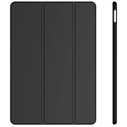 JETech Funda Compatible iPad Air 10,5 (3ª Generación 2019) y iPad Pro 10,5 2017, Carcasa con Soporte Función, Auto-Sueño/Estela, Negro