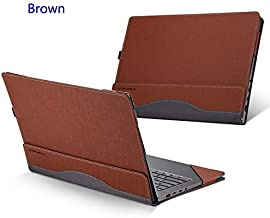 BALOO-Laptop Bags & Cases - Laptop Case For for Lenovo Yoga 7 6 5 4 Pro Liner Sleeve For Yoga C930 920 910 900 Unisex Patchwork PU Leather Protective Cover Gift (brown For Yoga 4 Pro)
