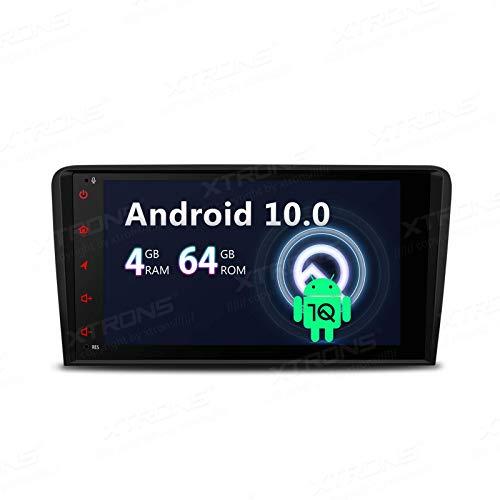 KAUTO 8'Android 10 Car Stereo Bluetooth 4G + 64G Navegación GPS de 8 núcleos Auto Radio Soporte WiFi 4G TPMS OBD DVR Dab + Backup CarAutoPlay Cámara para Audi A3 S3