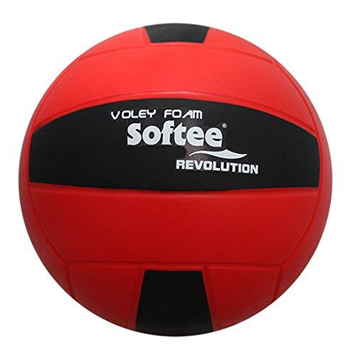 Softee Equipment Rojo Balon Voleibol Revolution Color, Talla Única