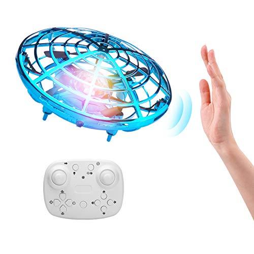 ShinePick Mini UFO Drone, Palla Volante Giocattoli Volanti Controllati a Mano...