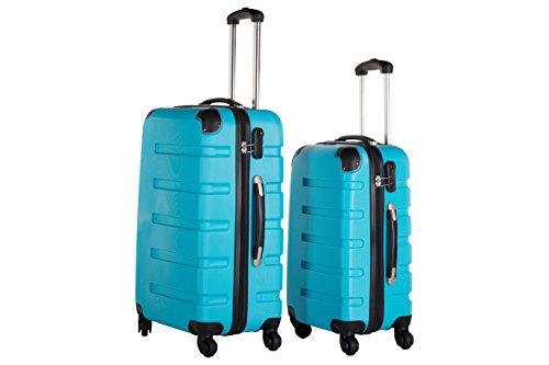 Packenger Koffer 2er-Set Marina, M/L, Blau