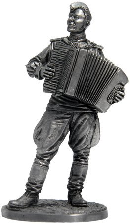 Soldier With Accordion Figure