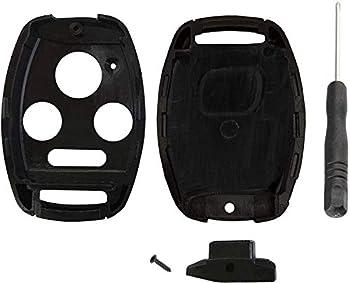 NO CUT Key Fob Case Shell Fix Repair for Honda Accord Civic Pilot CR-V Remote