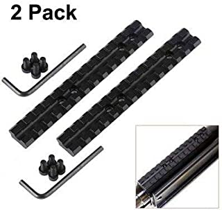 GOTICAL Mossberg 500/590 Series Tactical Shotgun Picatinny Rail Mount with Hardware Pack of 2 Piece