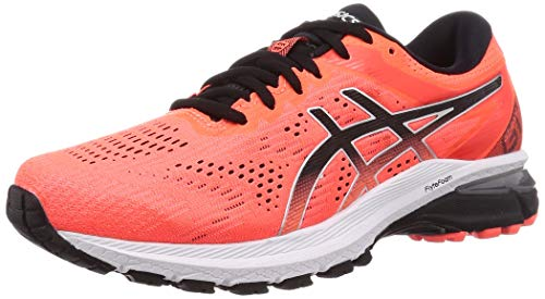 ASICS Herren GT-2000 8 Laufschuh, Sunrise Red Black, 46.5 EU