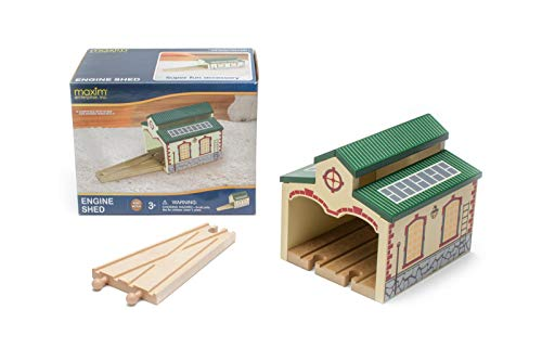maxim enterprise, inc. 50949 Toys for Play Wooden Engine Shed