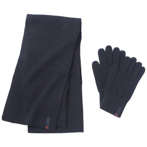 PUMA Schal und Handschuhe Fundamentals Knit Set, Black, M/L
