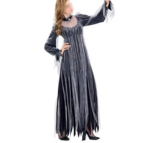 KESYOO 1 Unid Disfraz de Mujer de Halloween Vampiro Diablo Vestido Horror...