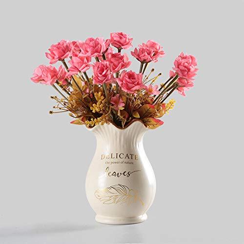 Fiore artificiale Posizionamento da tavolo Fiore Fiore artificiale Decorazione soggiorno Decorazione floreale...