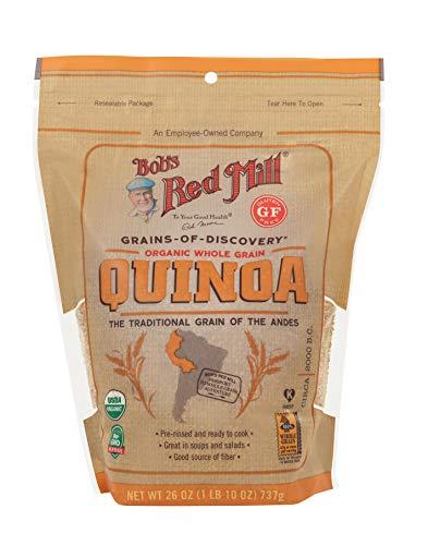 Bob's Red Mill Organic White Quinoa, 13 Ounce (Resealable)