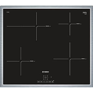 Bosch PIF645BB1E hobs – Placa (Integrado, Inducción, Cerámico, Negro, Tocar, 50/60 Hz)