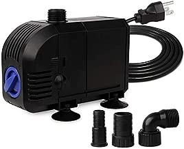 FREESEA 45W 660GPH Submersible Water Pump for Aquarium, Pond Pool, Fountain, Hydroponics, Statuary