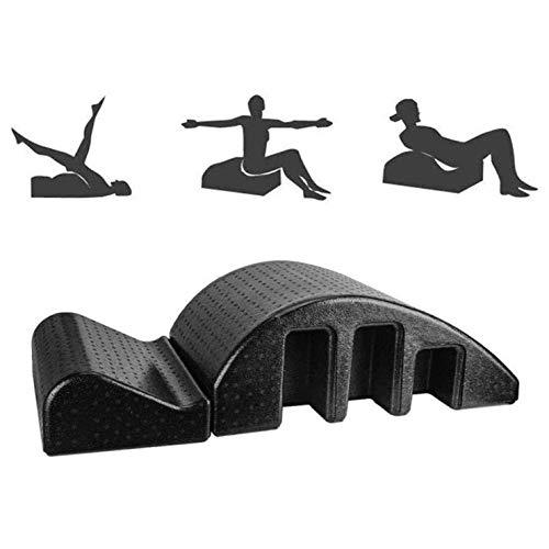 HongLianRiven Yoga Wirbelsäule Arch Foam Pilates Wirbelsäule Corrector Barrel Yoga Massageliege Bett Balanced Body Manual Kyphotic 8-11