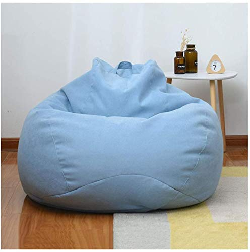 Kids Highback Beanbag Chair, Water Resistant Bean Bag Chairs Great for Home Indoor Outdoor Kitchen Living Room Gaming and Garden(23.6X 27.6 in)-C