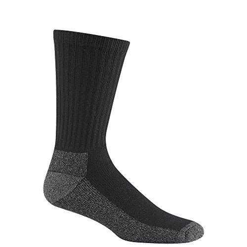 Wigwam At Work Crew 3-Pack Socks- Black