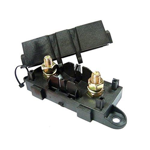 ROSENICE KFZ-Sicherungshalter-Box, für 1 Mega-Backup (M8-Gewinde)