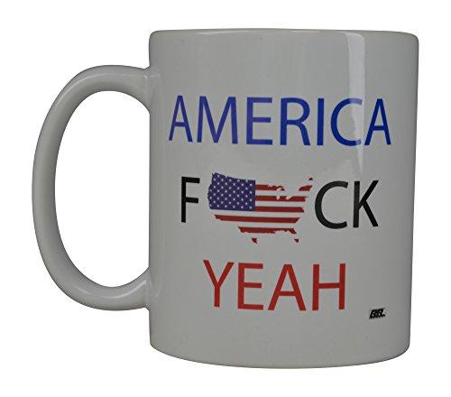 Tasse mit USA-Flagge, amerikanischer Patrioten, tolle Geschenkidee für Männer, Vater, Ehemann, Militär, Veteran, konservative (America Yeah)