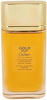 Must De Cartier Gold by Cartier Eau De Parfum Spray (Tester) 3.3 oz for Women