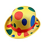 Amosfun Karneval Clown Hut Polka Dot Top Hut Neuheit Bühne Leistung Hut Zirkus Party...